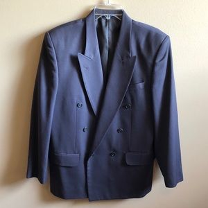 Banchiere Collezion Double Breasted Suit Jacket